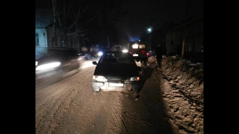 Очередная авария с участием пешеходов в Шарье