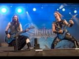Ensiferum - Hellfest 2015 (финская фолк-метал-группа )