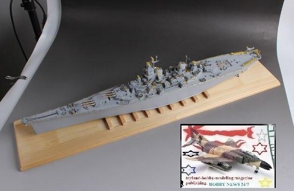 4pcs Chuan Yu 1//350 Montana MK9 Main Gun