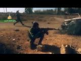 Видео по боям иракского филиала Хезболлы с боевиками запрещенной в России организации Исламское Государство в Сирии и Ираке