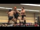 Kazusada Higuchi, Yuki Ueno vs. Naomi Yoshimura, Keisuke Okuda DDT - Tsuyuhashi Again in Nagoya 2018