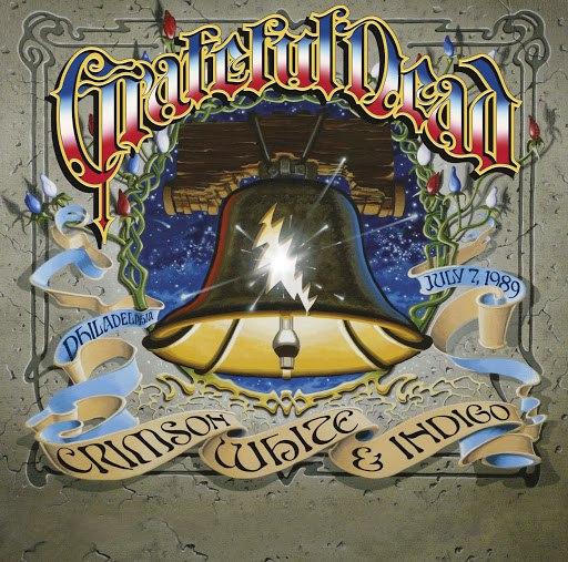 Grateful Dead альбом Crimson, White & Indigo: July 7 1989, JFK Stadium, Philadelphia