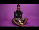 Black Panther#39;s Lupita Nyong#39;o Plays With Puppies (While Answering Fan Questions) - YouTube