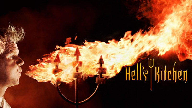Адская Кухня 17 сезон 14 серия Hell's Kitchen 2017