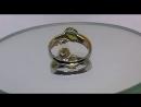 ПРОДАНО. Кольцо Фея . Хризолит. Хризопраз. Серебро 925 пробы.