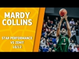 Star Performance. Mardy Collins vs Zenit - 26 pts  3 ast