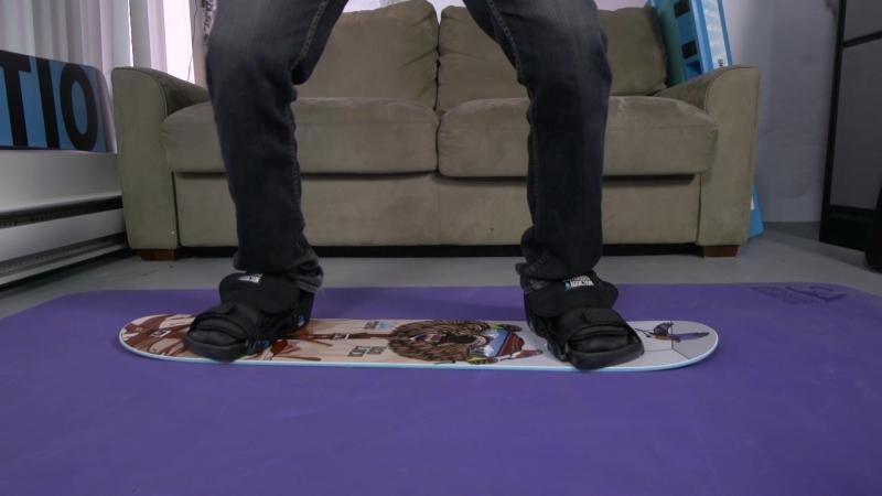 Snowboard Addiction - Balance Bar Training | Getting Moving On Your Training Board