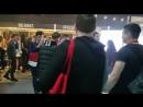 Интерактивная застройка компании «Пандоры» от Гефест Проекция на Tesla place