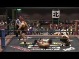 Daisuke Sasaki, Tetsuya Endo vs. Naomi Yoshimura, Yuki Ueno (DDT - Naniwa Wrestling Road 2017)
