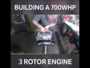 Building A 700WHP 3 Rotor Engine