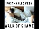Post-Halloween Walk of Shame