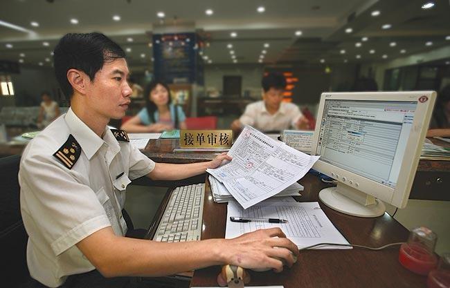 таможенный контроль в Китае