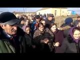 Митинг против нефтезавода в селе Берикей (Дагестан) 10 января 2018