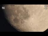 Фотограф с помощью 83-кратного зума смог рассмотреть малейшие детали на луне