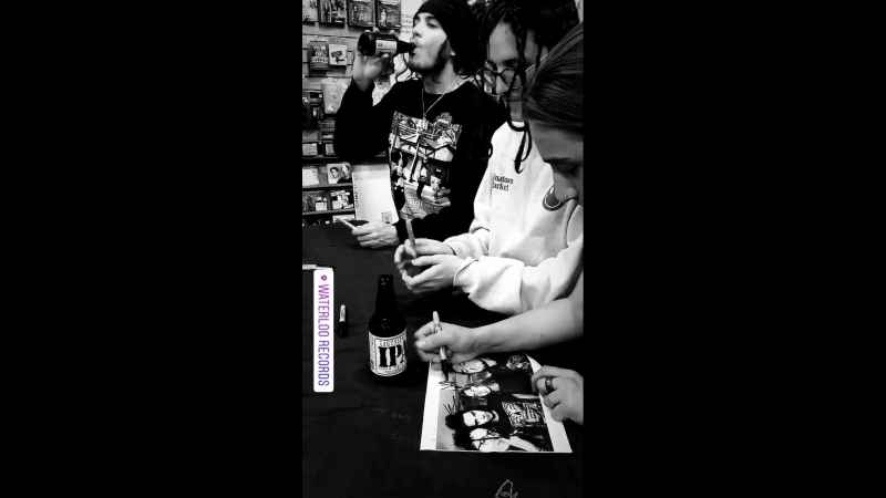 Instagram Story Chase Atlantic 16/02/18