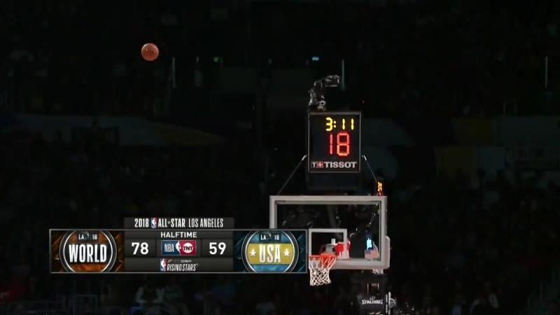NBA All-Star Weekend 2018 Los Angeles: Team World vs Team USA