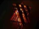 светильник из деревянных палочек