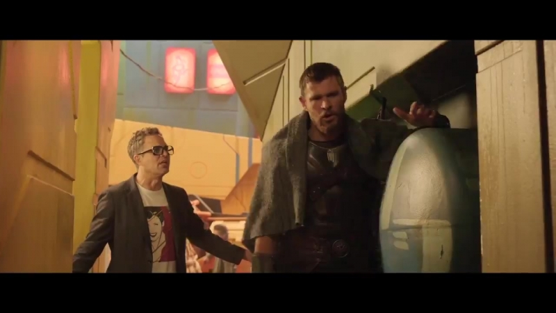 Thor Ragnarok Deleted scene - Stuck on Sakar!