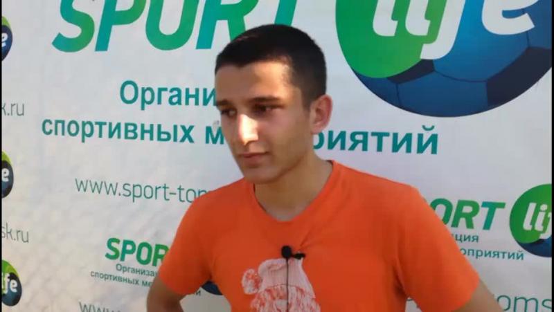 Интервью игрока Агаева Сахила УВЦ РФФ