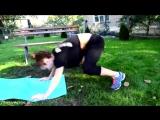 Жиросжигающая тренировка Фитнес по-домашнему