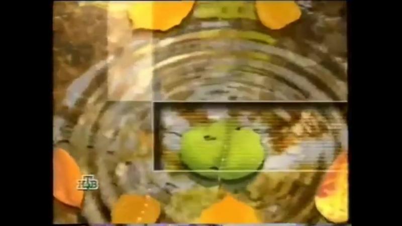 Перед и после рекламная заставка НТВ 1998 2001 Лужа