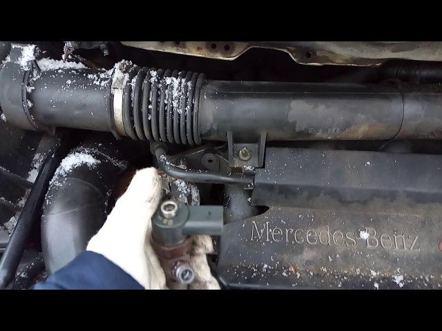 Mercedes vito w638 не заводится в мороз?Возможные причины и пути решения