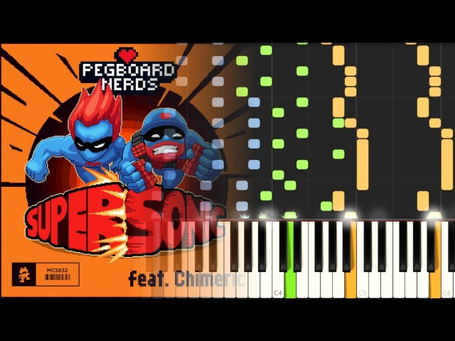 [MIDI] Pegboard Nerds - Supersonic ft. Chimeric