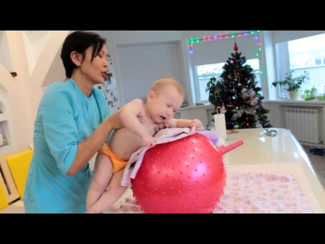 Постуральный массаж (дренажный) для детей до года!