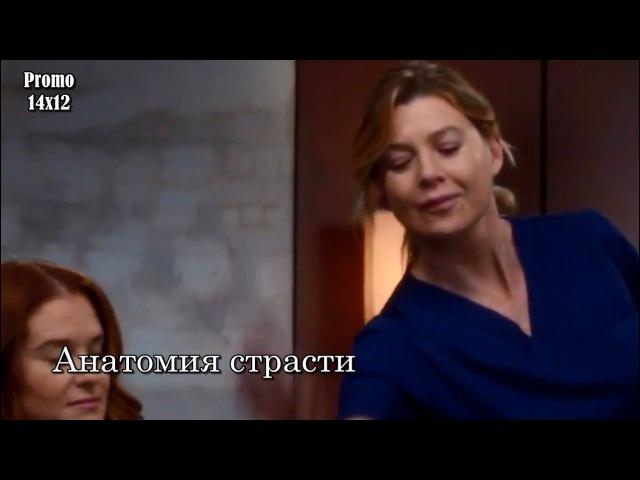 Анатомия страсти 14 сезон 12 серия - Промо с русскими субтитрами Grey's Anatomy 14x12 Promo