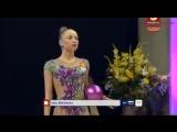 Yulia Bravikova Ball EF - World Challenge Cup Berlin 2017