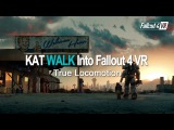 KAT WALK + Fallout 4 VR = Best VR experience!