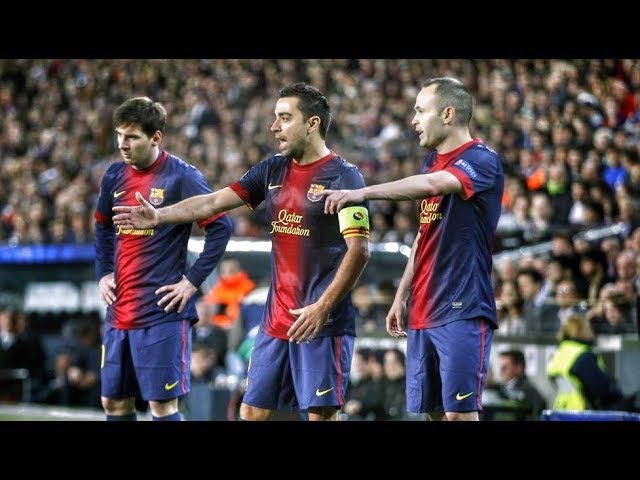 This isn't a Football This is a Magic   FCB Dream Team Incredible TIKI TAKA