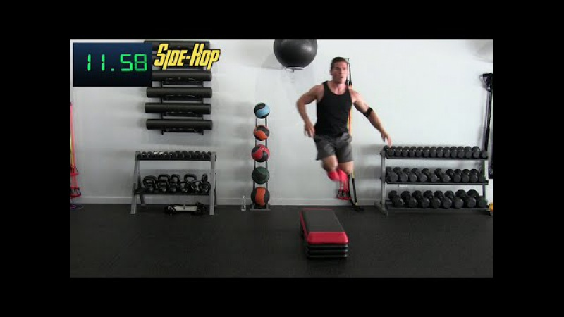 30 Min High Intensity Training for Athletes w James Peska - HASfit HIIT Workout - Interval Workouts