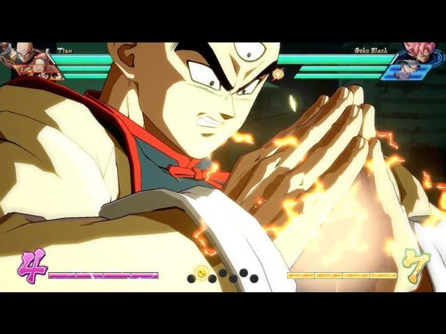 DRAGON BALL FighterZ - Tien Character Breakdown   X1, PS4, PC