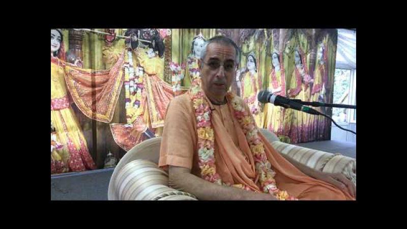 Niranjana Swami – Meeting with disciples at Sadhu-sanga, Russia – 14-Sep-2017