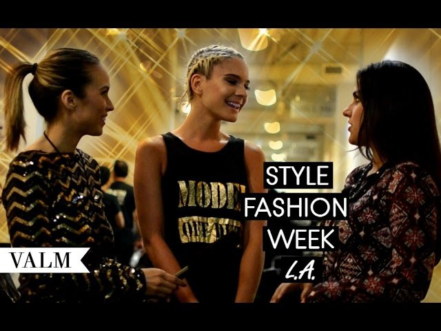 LA Style Fashion Week 2015 VALM ft Ava Capra ANTM Cycle 22 much more