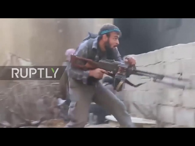 Syria SAA resumes offensive in E. Ghouta despite ceasefire