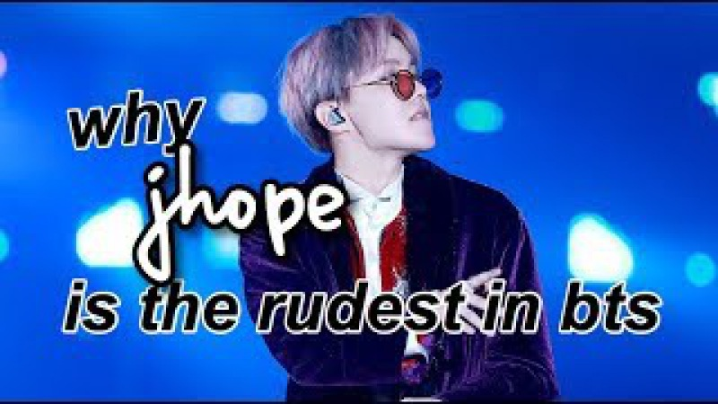 Why J-Hope is the Rudest Member of BTS