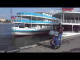 Джамшут и Равшан ловят рыбу на уху.Нева.Neva river,St.Petersburg,Rus