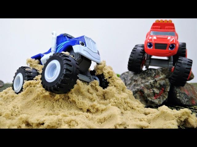 Monster machines Crusher est coincé dans la boue