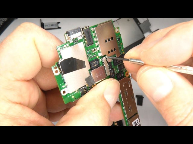 Nokia Lumia 800 Teardown - Disassemble Reassemble - Battery Case Replacement