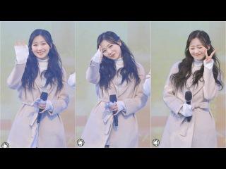 180123 러블리즈 류수정 직캠 '첫눈(First Snow)' Lovelyz(Soo-Jung) Fancam @평창 동계올림픽 성화봉송 양구