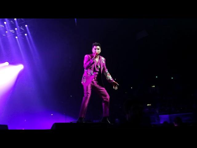 QUEEN ADAM LAMBERT - Don't Stop Me Now, London, Wembley, 15.12.2017