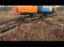 Транспортер ТС на болоте