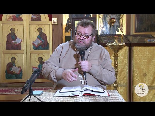 Протоиерей Олег Стеняев. Евангелие от Луки 04.