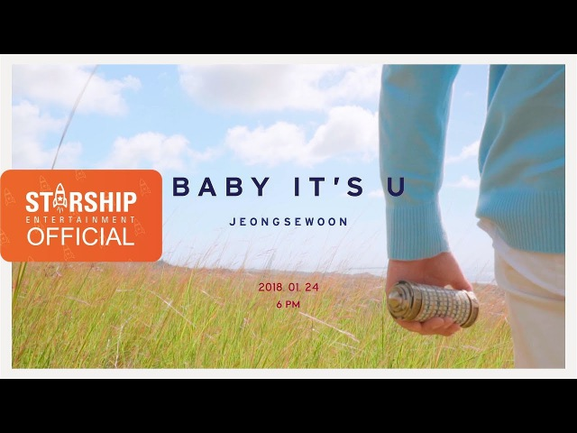 [Teaser] 정세운 - BABY IT'S U (Prod. 키겐, earattack) (JEONG SEWOON)