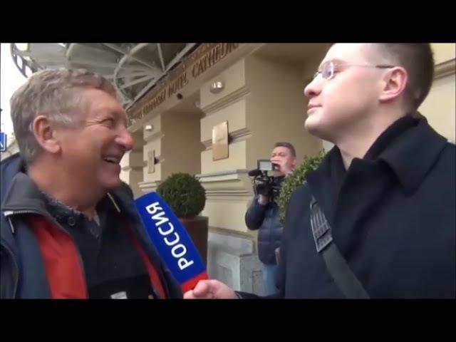 Константин БОРОВОЙ опускает путинских журнашлюх в Вильнюсе (2016)