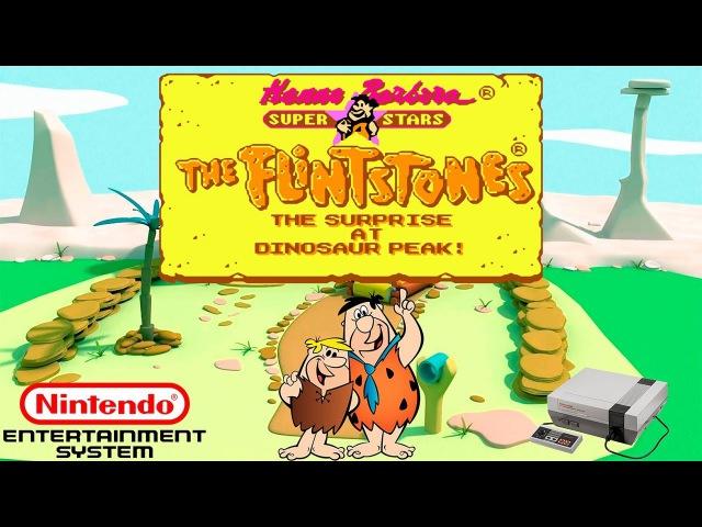 The Flintstones: The Surprise at Dinosaur Peak! прохождение (NES/Dendy) 60fps