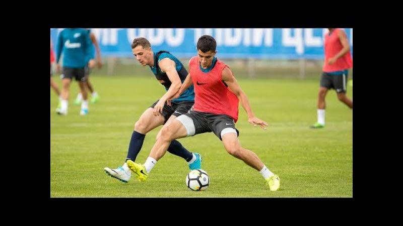 Зенит Рубин открытая тренировка перед первым домашним матчем сезона