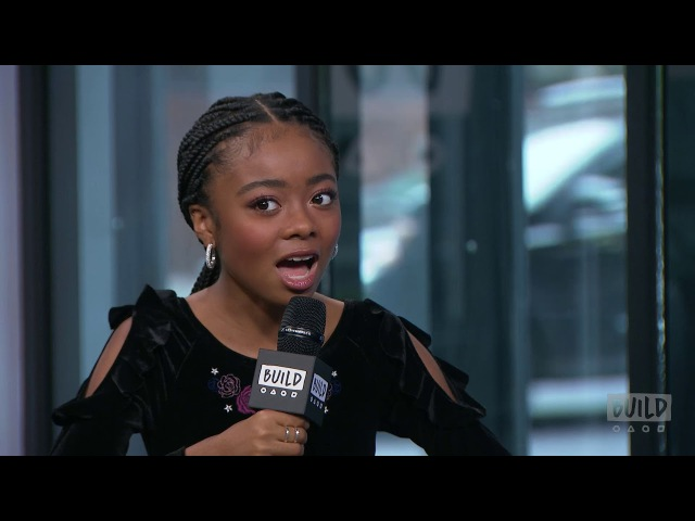 Skai Jackson Visits To Talk About Her Nowadays Collection